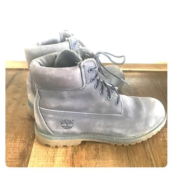 169e9cbd32bc2 Timberland Shoes | Womens Boots Light Blue 85 | Poshmark